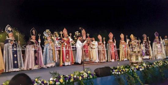البابا تواضروس يصنع الميرون للمرة الثانية فى عصره -اليوم السابع -7 -2015