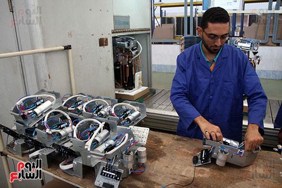 خط إنتاج، التكييف المصرى، جالينز ، مصنع 360 الحربى (5)