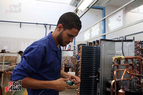خط إنتاج، التكييف المصرى، جالينز ، مصنع 360 الحربى (14)