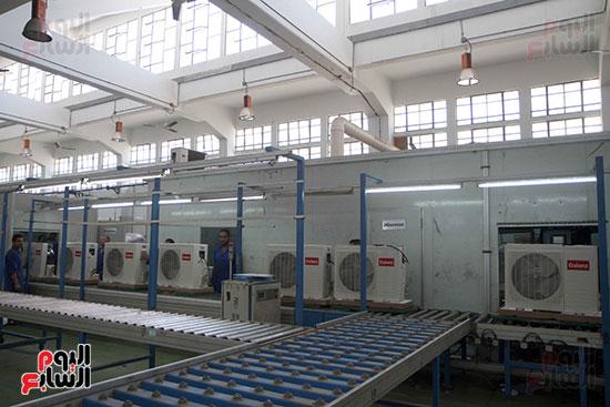 خط إنتاج، التكييف المصرى، جالينز ، مصنع 360 الحربى (16)