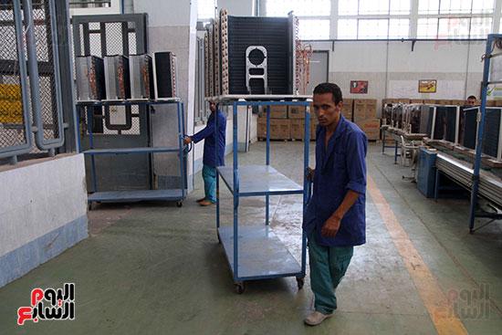 خط إنتاج، التكييف المصرى، جالينز ، مصنع 360 الحربى (19)