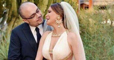 كارول سماحة وزوجها رجل الأعمال الدكتور وليد مصطفى
