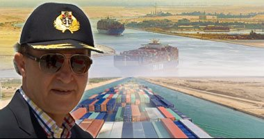 مهاب مميش: عبور 279 سفينة قناة السويس بحمولة 16.2 مليون طن فى ستة أيام