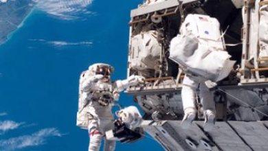 مباشر  .. رائدا فضاء ناسا يسيران خارج المحطة الدولية
