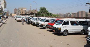 نقل موقف مدينة جهينة وقرى مركز المراغة بجوار مركز شرطة سوهاج
