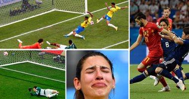 ملخص مباريات اليوم الثالث فى دور الـ16 30 صورة البرازيل تقتل