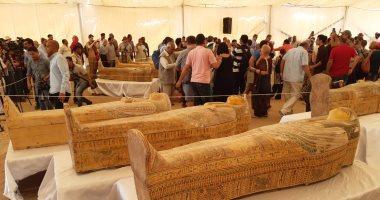 Photo of الاثار المصريه تعلن اكتشاف ٣٠ تابوت فرعوني