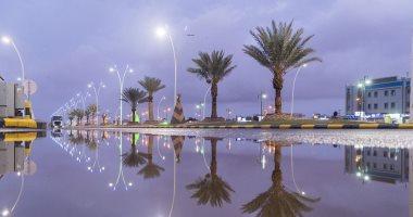 أمطار على محافظة الطائف بالسعودية اليوم السابع