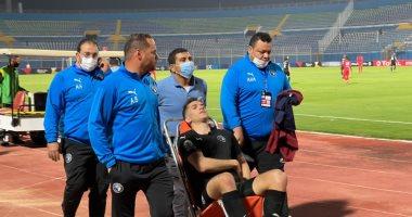 محمود وادى يعود لتدريبات بيراميدز الأسبوع المقبل بعد شفائه من كسر الضلوع