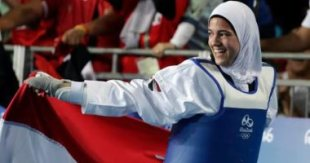 """Coach of Hedaya Malak after Tokyo bronze medal: I entered the qualifiers with """"one leg"""""""