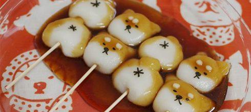 「超萌柴犬糯米糰子,網友都跪求發售」日本超可愛美食,在台灣也吃得到!