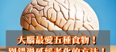 大腦最愛吃五種食物!別錯過延緩老化的方法!-台灣養生網