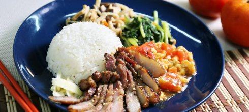 【味自慢──烤肉飯便當】純手作就是殺!客家風烤鹹豬肉飯