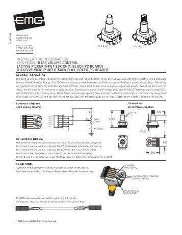 volume control instructions emg pickups?resize\=357%2C462\&ssl\=1 emg select pickup wiring diagram wiring diagrams emg select wiring at mifinder.co