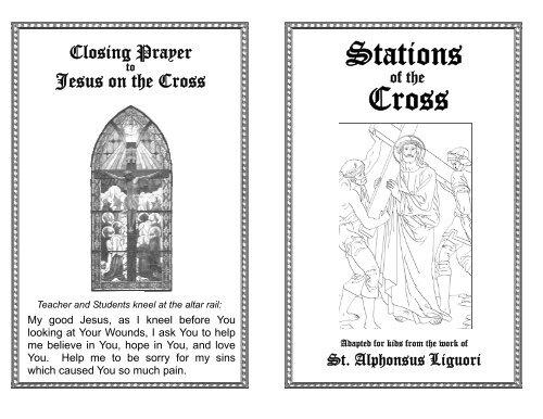 Printable Stations Of The Cross St John The Baptist Roman