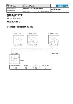 Modbus Rtu Wiring Diagram | Online Wiring Diagram