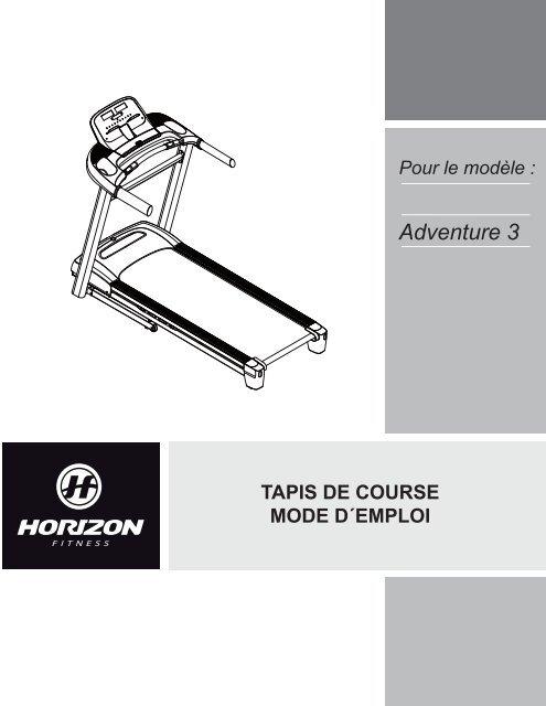 adventure 3 horizon fitness