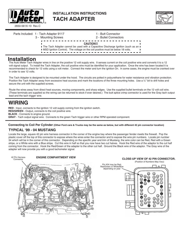 tach adapter installation instructions auto meter?resize\\\\\\\=665%2C860\\\\\\\&ssl\\\\\\\=1 sunpro tach wiring diagram & diagramtachometer tach adapter  at nearapp.co