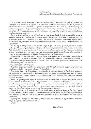 Download Della Lettera Di Presentazione Del Curriculum Di