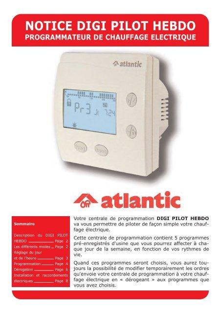 Notice Digi Pilot Hebdo Atlantic