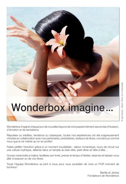 wonderbox imagine boulanger