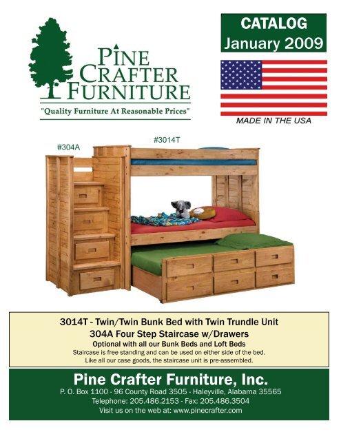 pine crafter furniture inc catalog