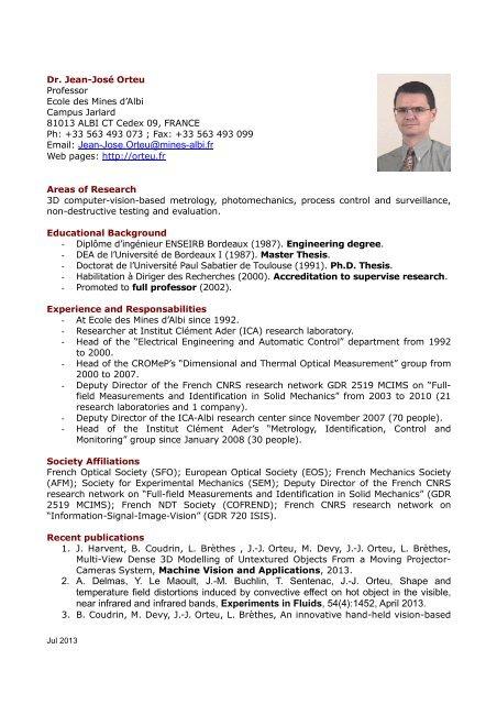 Cv Resume In Pdf