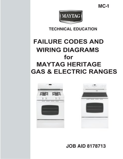 wiring diagrams for maytag heritage gas  electric  whirlpool