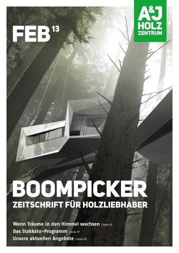 20 free Magazines from HOLZZENTRUM.DE