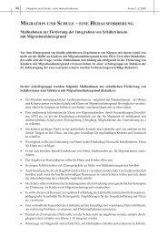 Migration Als Herausforderung Unesco Projekt Schulen Deutschland