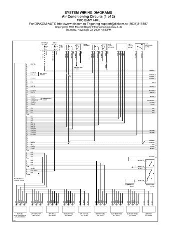 system wiring diagrams air conditioning circuits 1 of 2?resized357%2C4626ssld1 bmw e39 wiring diagram efcaviation com bmw e39 dsp wiring diagram at readyjetset.co