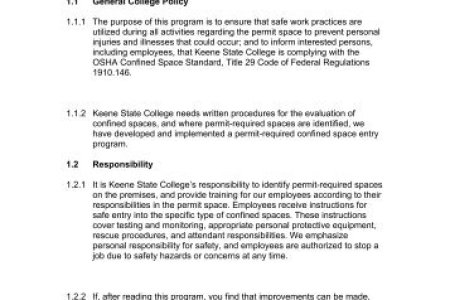 confined space entry program template » Invoice Templates 2019 ...
