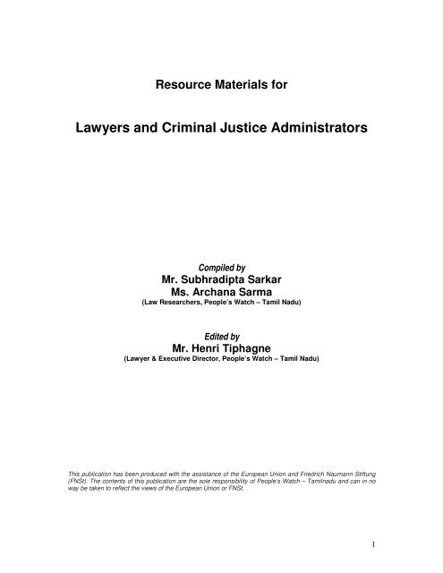 criminal justice administrators pdf