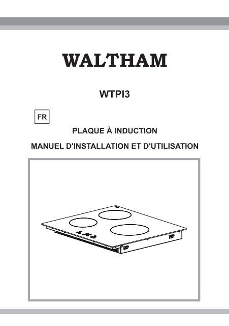 Plaque A Induction Manuel D Installation Electro Depot