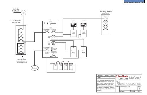 radian wiring diagrams  the solar panel store