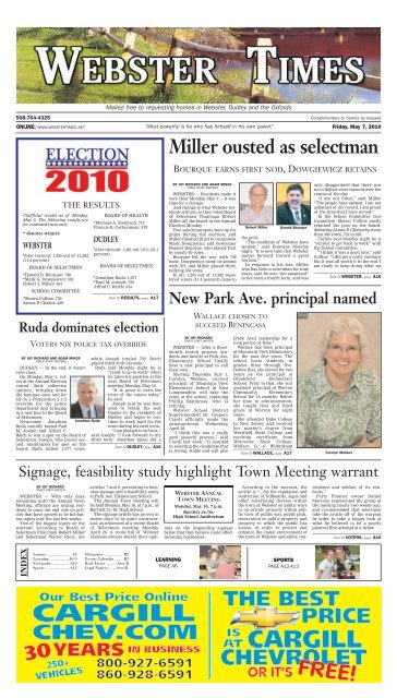 Layout 1 Page 1 Stonebridge Press And Villager Newspapers