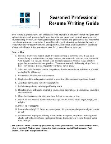 elementary teacher resume sample page 2 resume 12 resume writing