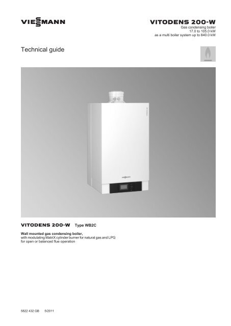 Vitodens 200 W Commercial Technical Guide Viessmann