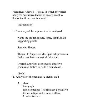 example of rhetorical analysis essay docoments ojazlink ap rhetorical analysis paragraphs