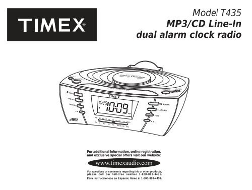 T435 User Manual Timex Audio