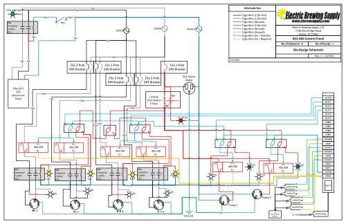 bcs460 control panel 50a design schematic  electric