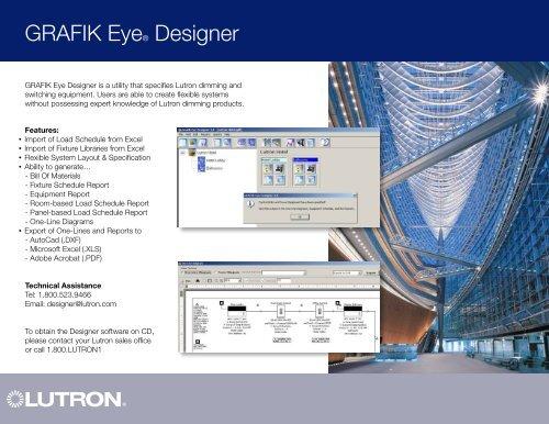 grafik eye® designer  lutron