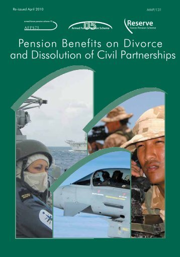Form 8 - Preserved Pension Claim doc PDF - Ministry of Defence