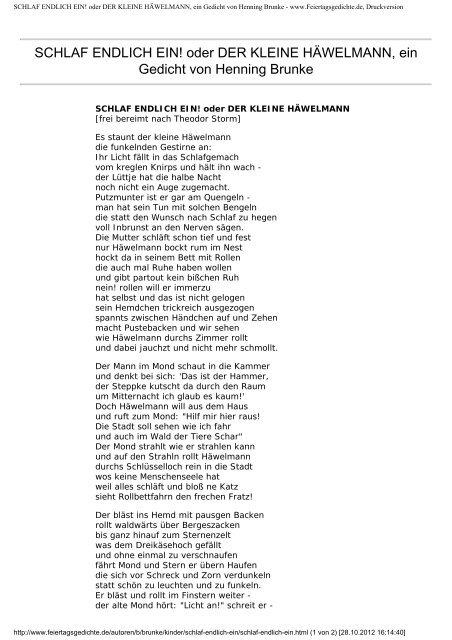 Schlaf Gedicht Die Bekanntesten Gedichte Schillers 2020 02 21