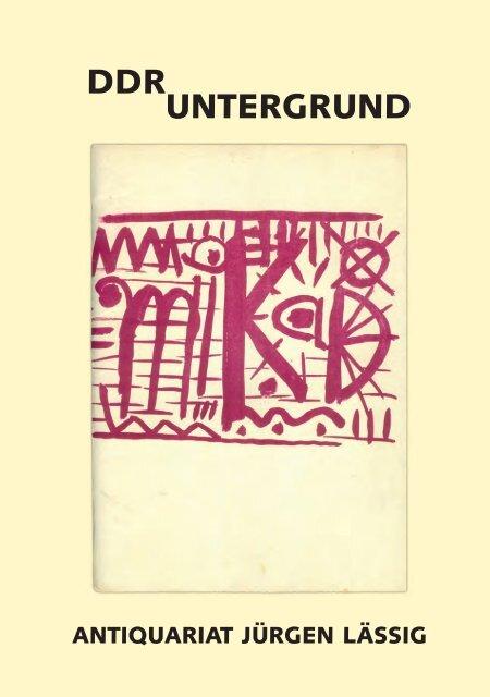 Ddr Untergrund Und Antiquariat Laessig De