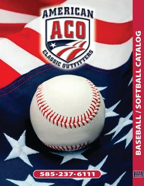 Aco Baseball Softball Catalog American Classic Outfitters