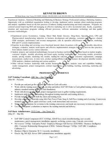 junior sap bi consultant resume suhujosmxtl resume templates