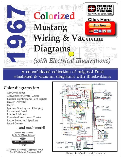 demo  1967 mustang wiring and vacuum diagrams
