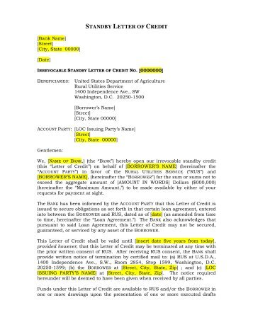 Irrevocable Letter Of Credit Cost  Docoments Ojazlink