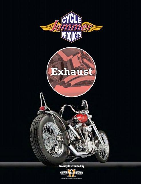 exhaust custom chrome